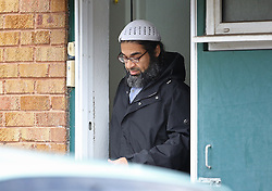 © Licensed to London News Pictures. 12/11/2015. London, UK.  Freed Guantanamo detainee Shaker Aamer is seen leaving home. Shaker Aamer was freed recently after being incarcerated in the US prison located in Cuba since 2002.  Photo credit: Peter Macdiarmid/LNP