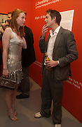 Alicia Witt, and James Murray, The Shape of Things, first night party. Photographers Gallery, 17 May 2004. ONE TIME USE ONLY - DO NOT ARCHIVE  © Copyright Photograph by Dafydd Jones 66 Stockwell Park Rd. London SW9 0DA Tel 020 7733 0108 www.dafjones.com