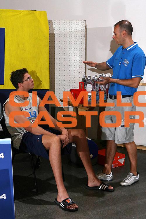 DESCRIZIONE : Bormio Raduno Collegiale Nazionale Maschile Allenamento<br /> GIOCATORE : Danilo Gallinari Roberto Oggioni<br /> SQUADRA : Nazionale Italia Uomini<br /> EVENTO : Raduno Collegiale Nazionale Maschile<br /> GARA : <br /> DATA : 30/07/2008 <br /> CATEGORIA : Allenamento<br /> SPORT : Pallacanestro <br /> AUTORE : Agenzia Ciamillo-Castoria/M.Marchi<br /> Galleria : Fip Nazionali 2008 <br /> Fotonotizia : Bormio Raduno Collegiale Nazionale Maschile Allenamento<br /> Predefinita :