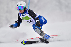 MISAWA Hiraku, LW2, JPN, Men's Giant Slalom at the WPAS_2019 Alpine Skiing World Championships, Kranjska Gora, Slovenia