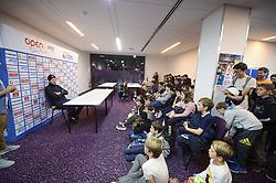 February 6, 2019 - Montpellier, France, FRANCE - rencontre entre Tomas Berdych (Cze)et les enfants du Club de Tennis Terre Rouge (Credit Image: © Panoramic via ZUMA Press)