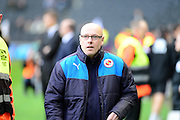 Reading manager Brian McDermott during the Sky Bet Championship match between Milton Keynes Dons and Reading at stadium:mk, Milton Keynes, England on 16 January 2016. Photo by Dennis Goodwin.