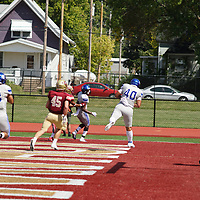 Sept 15th, 2018, University of Dubuque defeats Coe  27-18 at Clark Field in Cedar Rapids