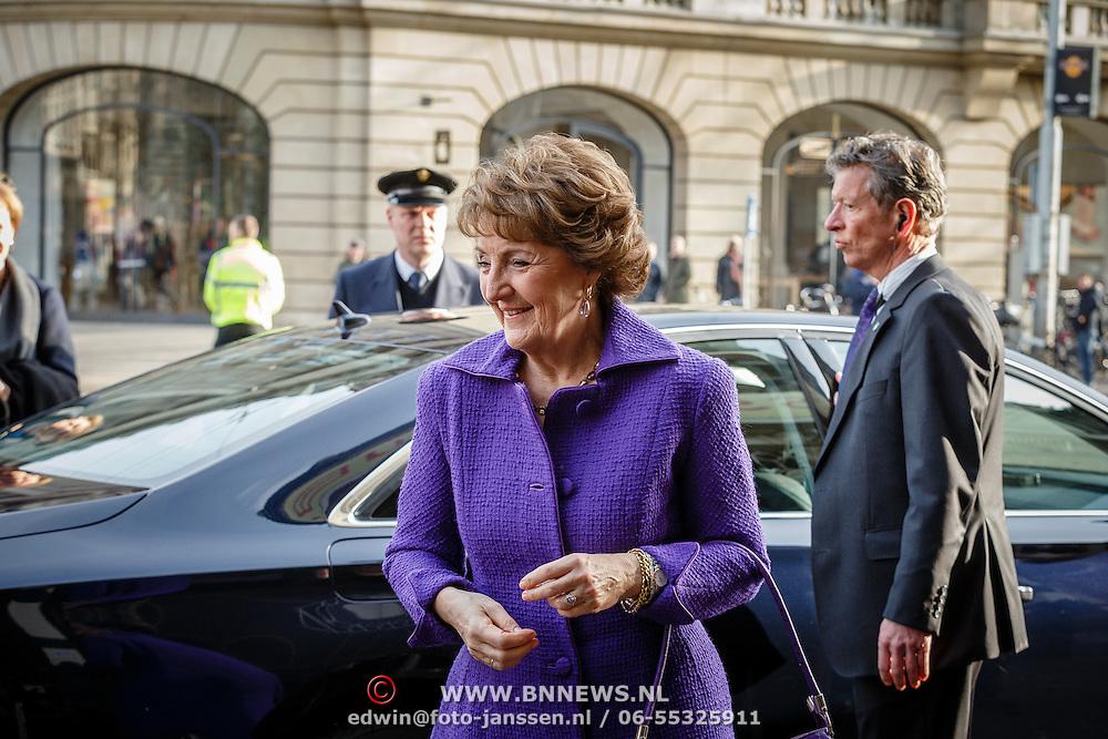 NLD/Amsterdam/20160315 - Uitreiking van de ECF Princess Margriet Award, Pr. Margriet