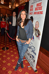 Actress LAILA ROUASS at an after show party following the opening of Peter Pan at the New Wimbledon Theatre, 93 The Broadway, London on 8th December 2015.