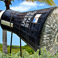 Friendship 7 Replica near Airport in Grand Turk, Turks and Caicos Islands <br />