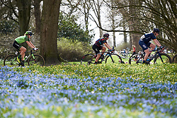 Trixi Worrack (GER) in the break at Healthy Ageing Tour 2018 - Stage 5, a 94.3 km road race in Groningen on April 8, 2018. Photo by Sean Robinson/Velofocus.com