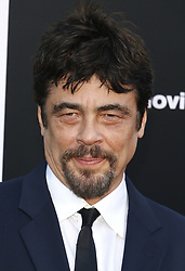 Benicio del Toro at the Los Angeles premiere of 'Sicario: Day Of The Soldado' held at the Regency Village Theatre in Westwood, USA on June 26, 2018.