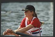 Henley, England,  GBR LW1X, Helen MANGAN. 1990 Women's Henley Regatta, Henley Reach, River Thames Oxfordshire <br /> <br /> <br /> [Mandatory Credit; Peter Spurrier/Intersport-images] 1990 Henley Women's Regatta, Henley,