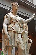 Statue of Dionysus leaning on a female figure (also known as the ''Hope Dionysus'). Marble, Roman. Augustan or Julio-Claudian. 27 B.C.-A.D. 68. Restored by Pacetti, Vincenzo