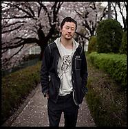 Actor, Tadanobu Asano at Nikkatsu Film Studios.  Tokyo, Japan
