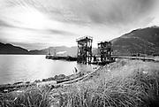 The Squamish Waterfront.  Squamish BC, Canada