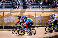 2018 Youth Olympic Games<br /> Buenos Aires, Argentina<br /> Mixed BMX - Race<br /> Final Men<br /> GLAZERS Edvards (LAT)<br /> BESKROVNYY Ilia (RUS)<br /> RAMIREZ Juan (COL)