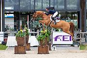 Lily Attwood - Karibou Horta<br /> FEI European Championships 2019<br /> © DigiShots