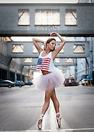 Olga Malinovskaya First Soloist at Ballet de l'Opéra de Nice formerly of Canada's Royal Winnipeg Ballet, Boston Ballet and The Bolshoi Ballet Academy photographed in Boston.