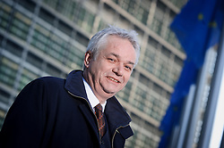 Manfred Bergmann, the European Commission's Directorate General for Taxation and Customs Union, in Brussels, on Monday, Feb. 6, 2012. (Photo © Jock Fistick)