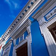 Old San Juan façade,.Puerto Rico