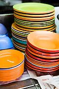 Street hawker plates.