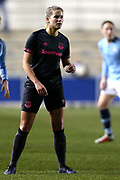 Everton defender Georgia Brougham (4) during the FA Women's Super League match between Manchester City Women and Everton Women at the Sport City Academy Stadium, Manchester, United Kingdom on 20 February 2019.
