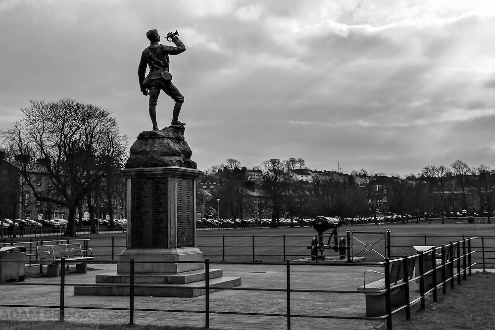 I recently did a B&amp;W challenge and decided to go with a B&amp;W conversion of this shot of the memorial in Armagh to the Irish Fusilliers who fought in South Africa during 1889-1902 I got back in March 2013.<br />