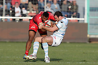 Steffon ARMITAGE / Jamie ROBERTS - 10.01.2015 - Toulon / Racing Metro - 16e journee Top 14<br />