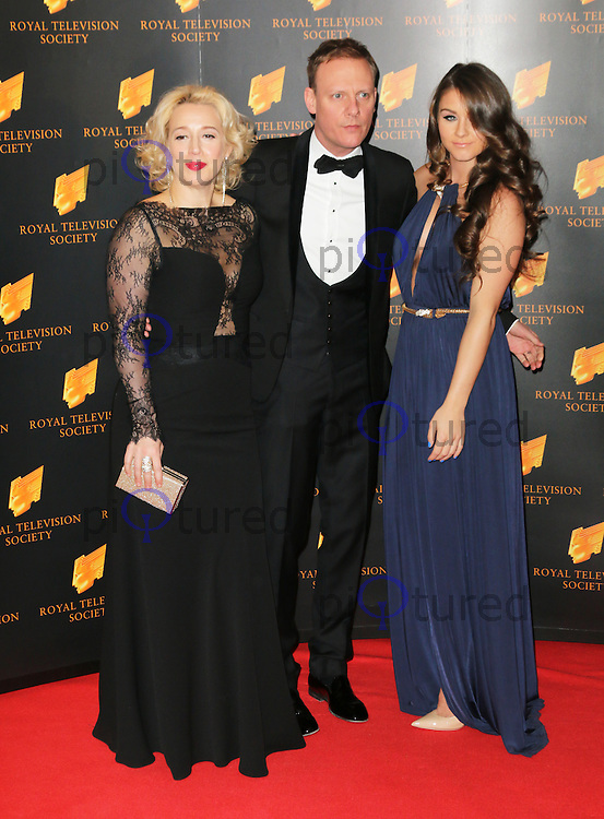 Katy Cavanagh; Antony Cotton; Brooke Vincent, The Royal Television Society Programme Awards, Grosvenor House Hotel, London UK, 18 March 2014, Photo by Richard Goldschmidt