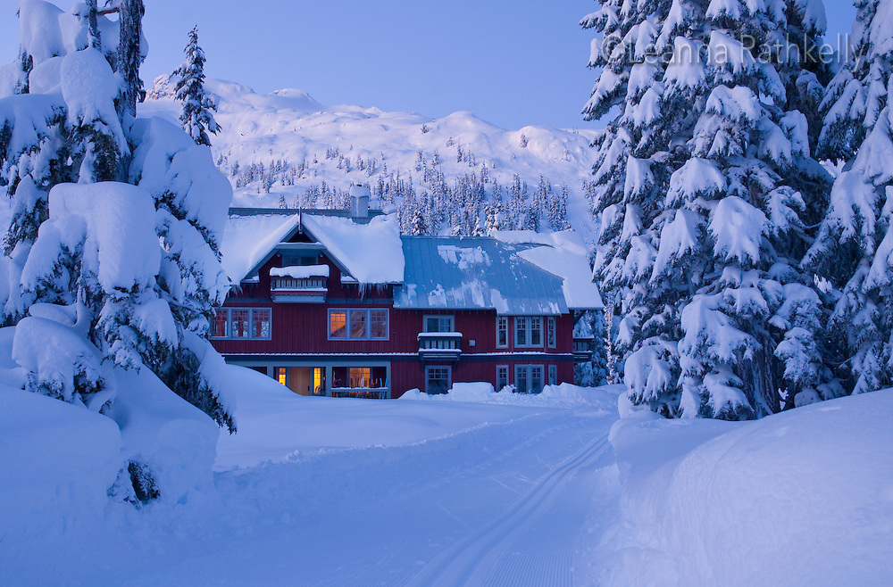 Sunrise: The Callaghan Country ski lodge is located 10 minutes south of Whistler, BC Canada, up the Callaghan Valley and next to the Whistler Olympic Park.