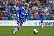 Gillingham midfielder Josh Wright(c) (44) during the EFL Sky Bet League 1 match between Gillingham and Coventry City at the MEMS Priestfield Stadium, Gillingham, England on 24 September 2016. Photo by Martin Cole.