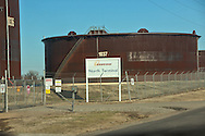 1/13/2016, Enbridge oil storage tanks in Cushing, Oklahoma. An increase in earthquakes spread worry about the safety of the tanks.