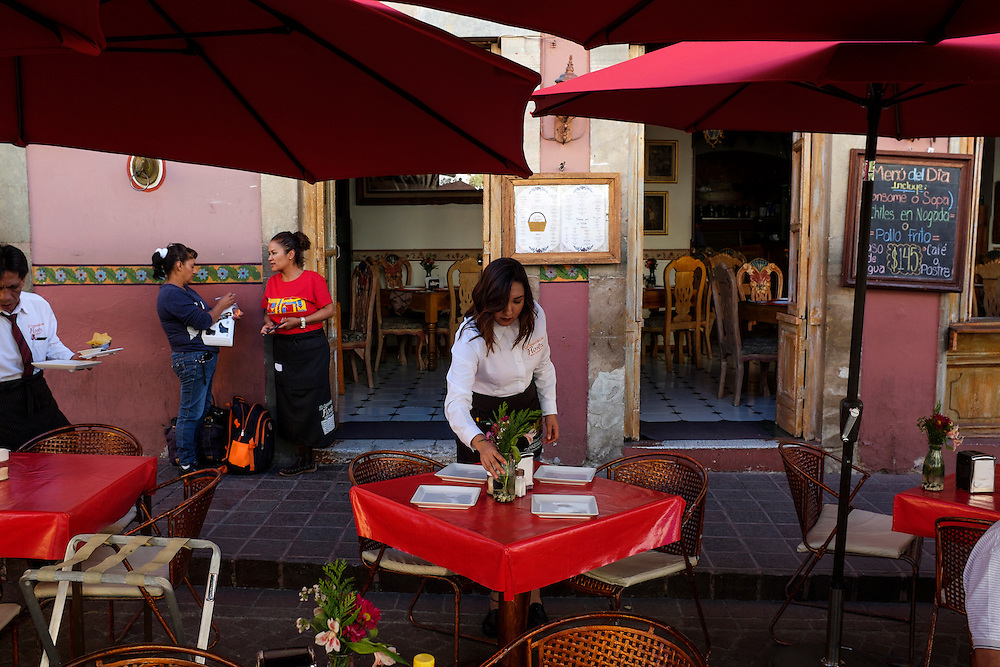 Cafe. City of Guanajuato, Mexico.