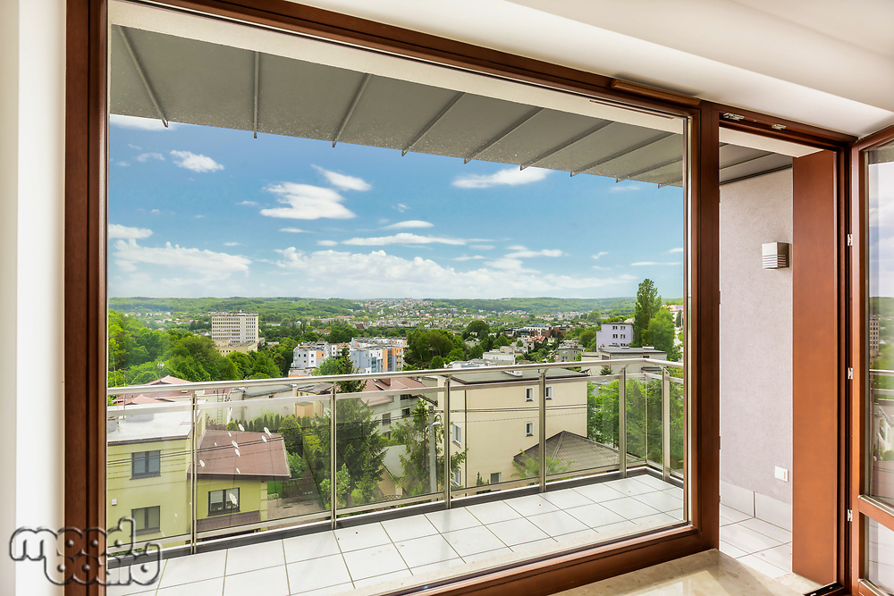 Photo of window view inside apartment