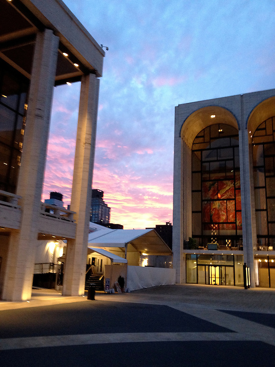 Lincoln Center at Dusk, Summer 2012.