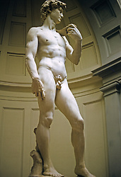 Michelangelo's Statue David, Accademia Florence, Italy