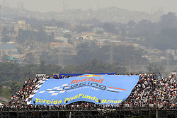26.11.2011, Autodromo Jose Carlos Pace, Sao Paulo, BRA, F1, Grosser Preis von Brasilien, im Bild Brazilian Grand Prix Impressions - Red Bull Fans // during the Formula One Championships 2011 Grand Prix of Brazil held at the Autodromo Jose Carlos Pace, Sao Paulo, Brazil on 2011/11/26. EXPA Pictures © 2011, PhotoCredit: EXPA/ nph/ Dieter Mathis..***** ATTENTION - OUT OF GER, CRO *****