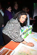 Justine Simmons at The Rush Philanthropic 10th Annual Youth Annual Hoiliday Party sponsored by Bounty and held at the Fillmore New York at irving Plaza on December 10, 2009 in New York City.