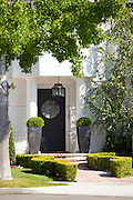 Beautiful Front Door and Entry to Home