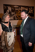 MAXINE DAVIDSON; JAMES RAWLIN, Picasso and Modern British Art, Tate Gallery. Millbank. 13 February 2012