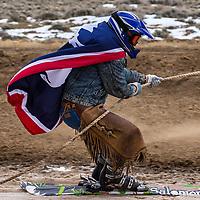 Saratoga Wyoming Skijoring