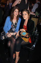 Left to right PRINCESS FLORENCE VON PREUSSEN and VIOLET VON WESTENHOLTZ at the launch party for the fashion label Javovich-Hawk held at the Fifth Floor Cafe, Harvey Nichols, Knightsbridge, London on 27th April 2006.<br />