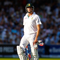 19/08/2012 London, England. South Africa's Morne Morkel walks off after being dismissed during the third Investec cricket international test match between England and South Africa, played at the Lords Cricket Ground: Mandatory credit: Mitchell Gunn