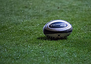 A general view of Rodney Parade, home of Dragons match ball<br /> <br /> Photographer Simon King/Replay Images<br /> <br /> Guinness PRO14 Round 14 - Dragons v Glasgow Warriors - Friday 9th February 2018 - Rodney Parade - Newport<br /> <br /> World Copyright © Replay Images . All rights reserved. info@replayimages.co.uk - http://replayimages.co.uk