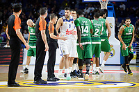 Real Madrid's players and Panathinaikos's players during match of Turkish Airlines Euroleague at Barclaycard Center in Madrid. November 16, Spain. 2016. (ALTERPHOTOS/BorjaB.Hojas)