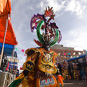 Performers at Carnival in Oruro, Bolivia.
