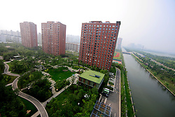 CHINA JIANGSU PROVINCE WUXI 20MAY10 - General view of the LandSea Green Living apartment blocks in Suzhou, Jiangsu Province, China...jre/Photo by Jiri Rezac..© Jiri Rezac 2010