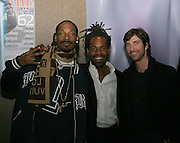Snoop Dogg, Unick & Dylan McDermott.The Tenants Post Screening Party.Aer Premiere Lounge.New York, NY, USA.Monday, April, 25, 2005.Photo By Selma Fonseca/Celebrityvibe.com/Photovibe.com, .New York, USA, Phone 212 410 5354, .email: sales@celebrityvibe.com ; website: www.celebrityvibe.com...