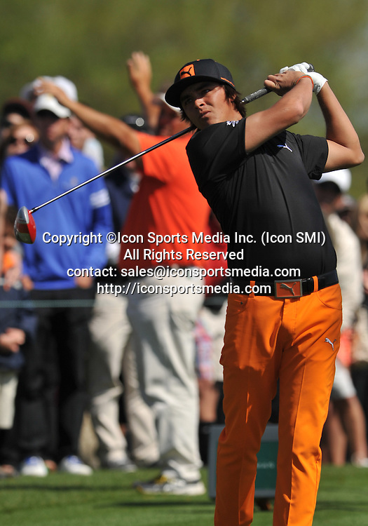 25 March 2013: Rickie Fowler during the final round of the Arnold Palmer Invitational at Arnold Palmer's Bay Hill Club & Lodge in Orlando, Florida.