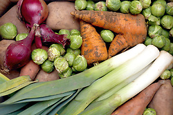 "Embargoed to 2330 Wednesday January 16 File photo dated 23/12/12 of fresh vegetables. According to experts from the EAT-Lancet Commission, a ""planetary health diet"" requiring a massive shift from meat to vegetable consumption is needed to protect the well-being of future generations and the planet."