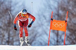 13.02.2018, Jeongseon Alpine Centre, Pyeongchang, KOR, PyeongChang 2018, Ski Alpin, Herren, Kombination, im Bild Aksel Lund Svindal (NOR) // Aksel Lund Svindal of Norway during the Mens Ski Men's Alpine Combined of the Pyeongchang 2018 Winter Olympic Games at the Jeongseon Alpine Centre in Pyeongchang, South Korea on 2018/02/13. EXPA Pictures © 2018, PhotoCredit: EXPA/ Johann Groder