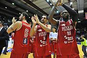DESCRIZIONE : Campionato 2013/14 Dinamo Banco di Sardegna Sassari - Victoria Libertas Pesaro<br /> GIOCATORE : Team<br /> CATEGORIA : Ritratto Delusione<br /> SQUADRA : Victoria Libertas Pesaro<br /> EVENTO : LegaBasket Serie A Beko 2013/2014<br /> GARA : Dinamo Banco di Sardegna Sassari - Victoria Libertas Pesaro<br /> DATA : 02/03/2014<br /> SPORT : Pallacanestro <br /> AUTORE : Agenzia Ciamillo-Castoria / Luigi Canu<br /> Galleria : LegaBasket Serie A Beko 2013/2014<br /> Fotonotizia : Campionato 2013/14 Dinamo Banco di Sardegna Sassari - Victoria Libertas Pesaro<br /> Predefinita :