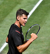 Dominic Thiem during the Mercedes Cup at Tennisclub Weissenhof, Stuttgart, Germany.<br /> Picture by EXPA Pictures/Focus Images Ltd 07814482222<br /> 10/06/2016<br /> *** UK &amp; IRELAND ONLY ***<br /> EXPA-EIB-160610-0145.jpg